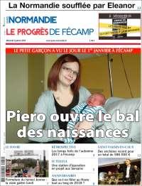 Portada de Progres de Fecamp (Francia)