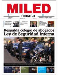 Portada de Miled - Hidalgo (México)