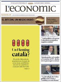 Portada de L'Econòmic (Spain)