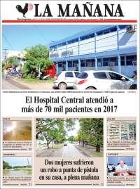 Portada de Diario La Mañana (Argentina)