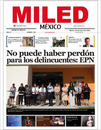 Portada de Miled (Mexique)