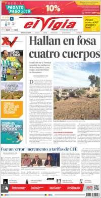 Portada de El Vigía (Mexique)