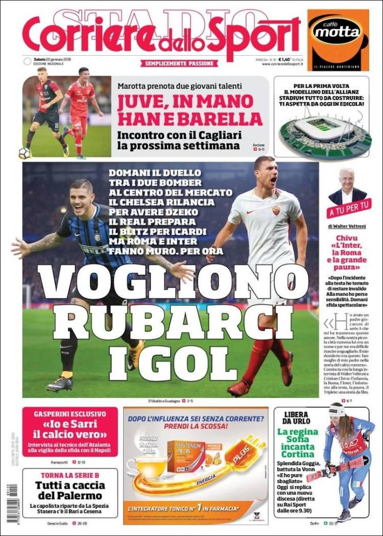 Portada de Corriere dello Sport (Italy)