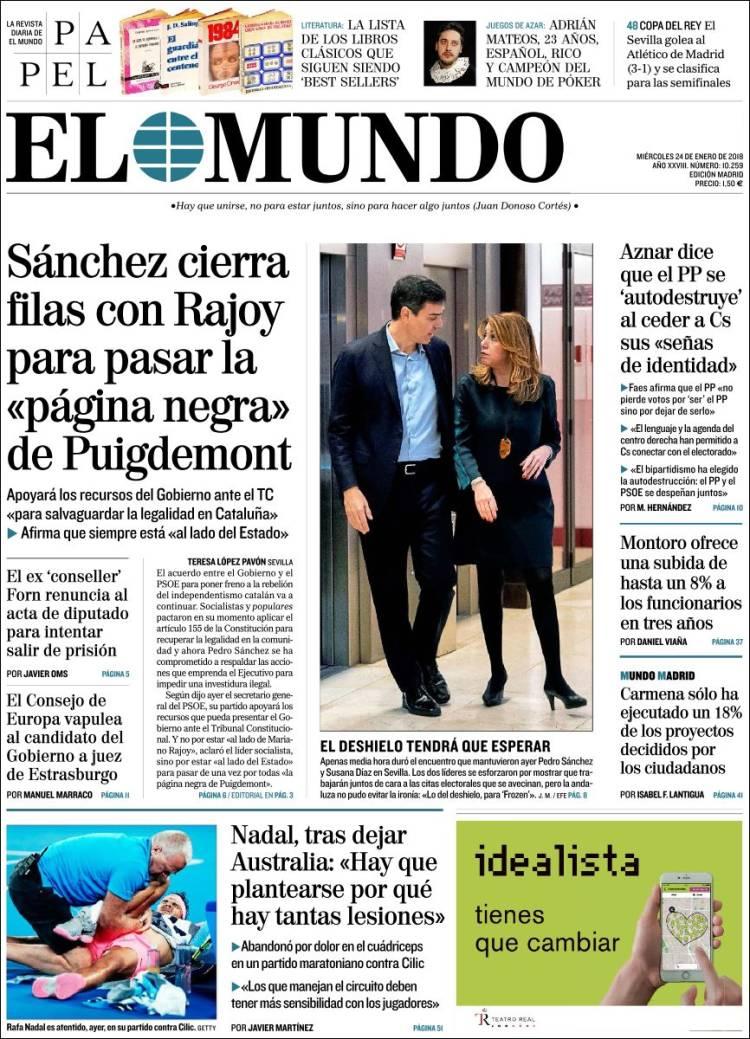 Spanish leaders 'close ranks' against Puigdemont – POLITICO