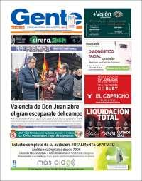 Portada de Gente en León (España)