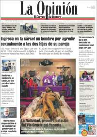 Portada de La Opinión - El Correo de Zamora (España)