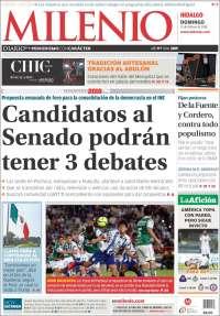 Portada de Milenio de Hidalgo (Mexique)