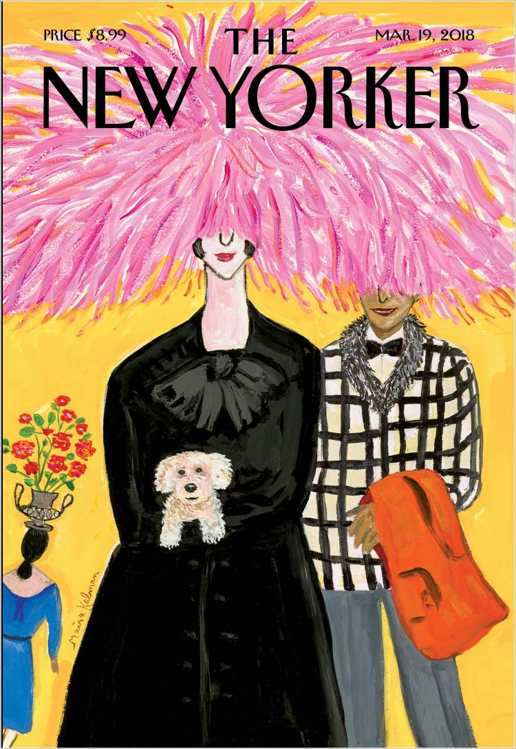 Portada de The New Yorker (États-Unis)