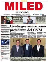 Portada de Miled - Nuevo León (Mexique)