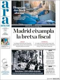 Portada de Ara (Espagne)