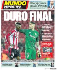 Portada de Mundo Deportivo Bizkaia (Espagne)