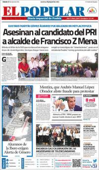 Periódico El Popular