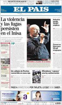 Portada de El País (Uruguay)