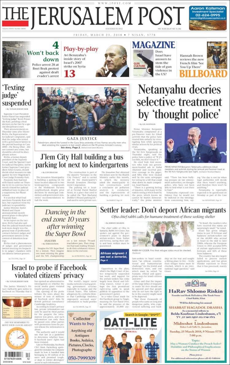 jerusalem post israel news