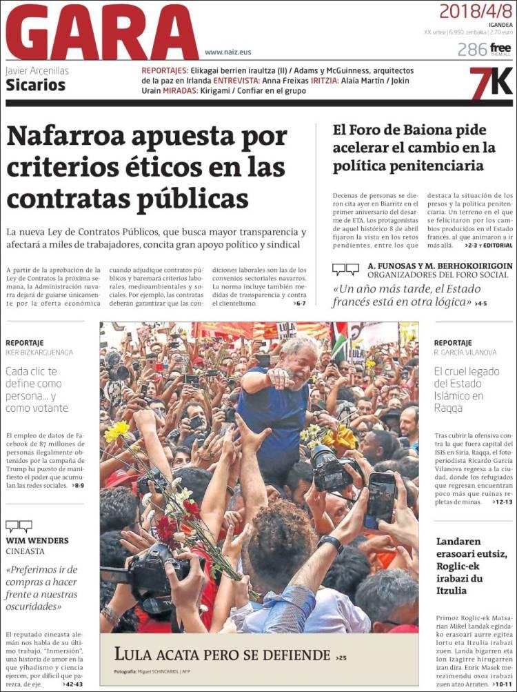 gara journal basque