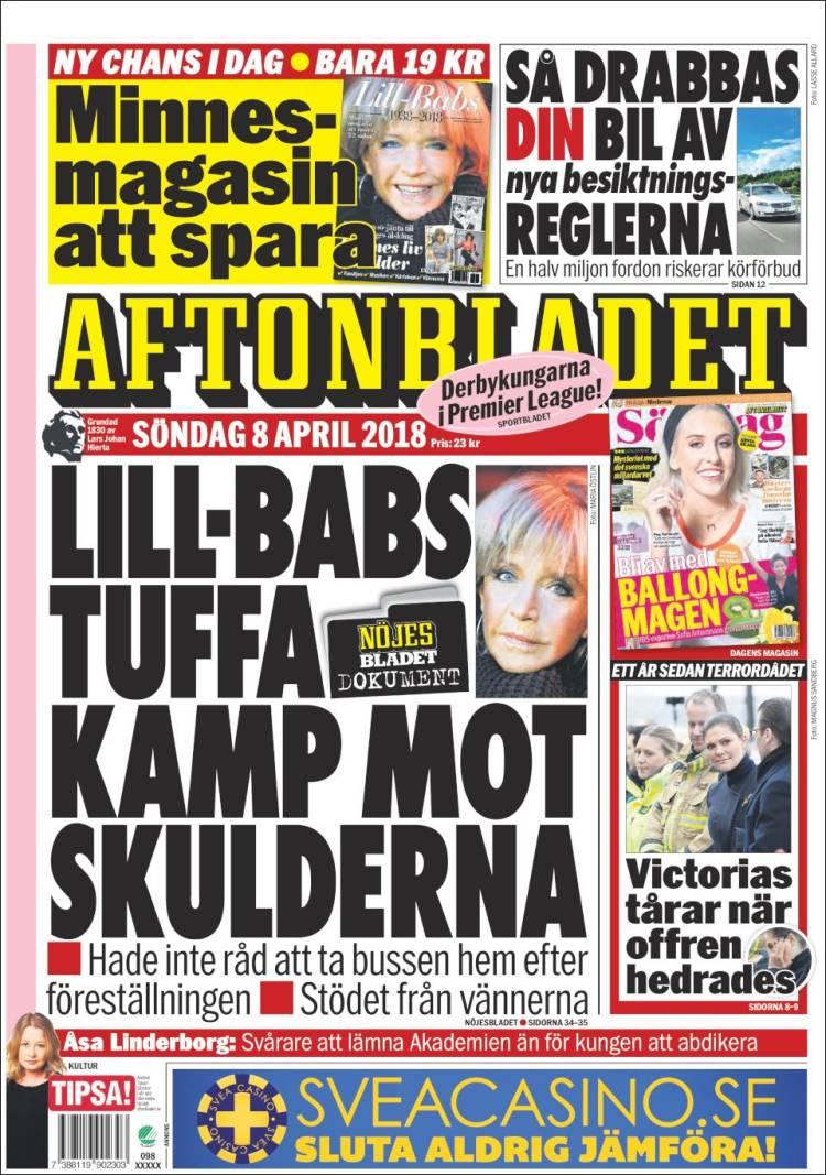 Aftonbladet daily 2 november