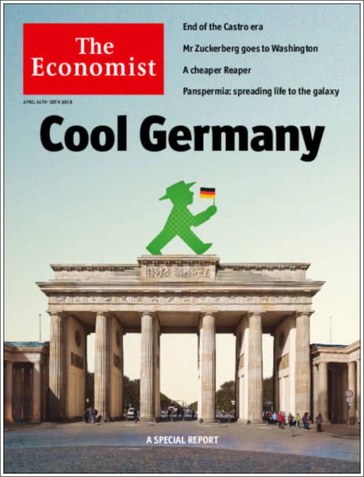Portada de The Economist (United Kingdom)