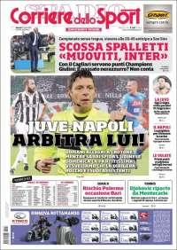 Portada de Corriere dello Sport (Italie)
