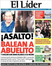 Portada de Lider de San Antonio (Chile)