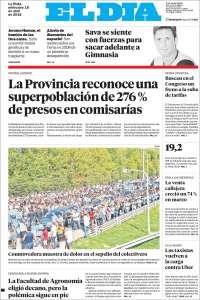 Portada de El Día de la Plata (Argentine)
