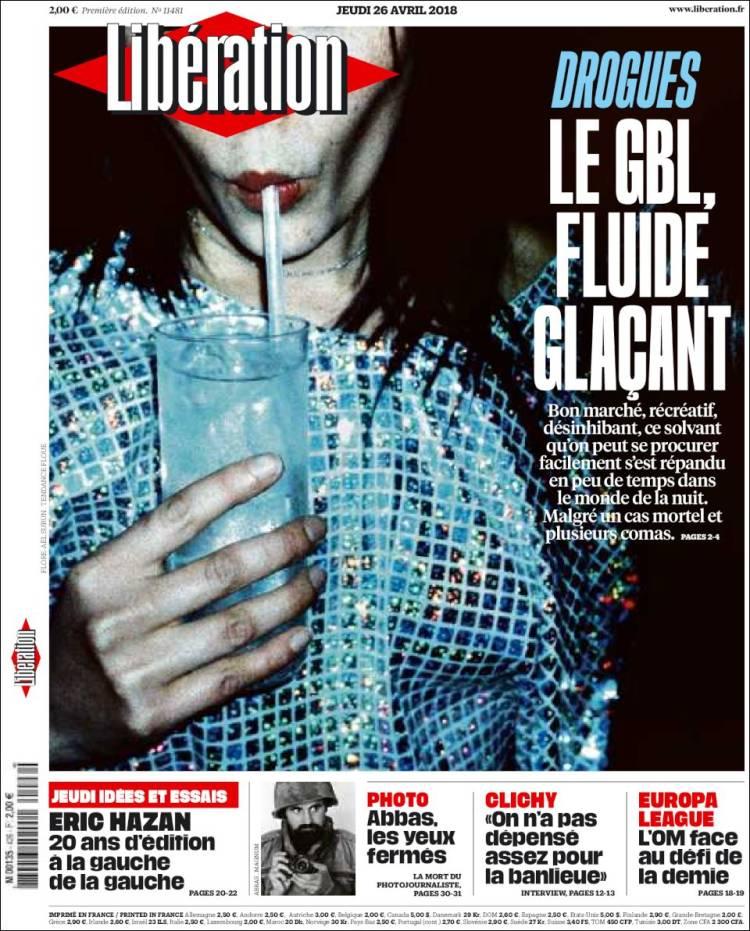 Portada de Libération (France)