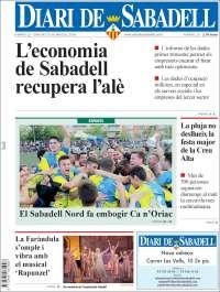 Portada de Diari de Sabadell (Spain)