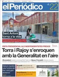 Portada de El Periódico de Catalunya (Spain)