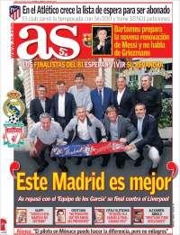 Portada de As (España)