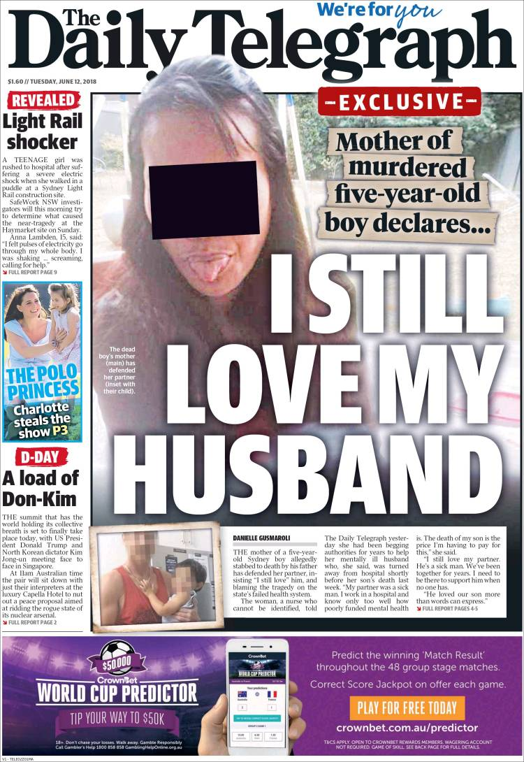 Newspaper The Daily Telegraph (Australia)  Newspapers in