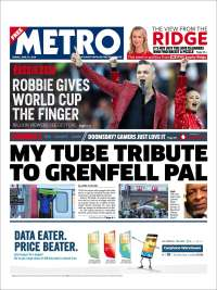 Portada de Metro (United Kingdom)