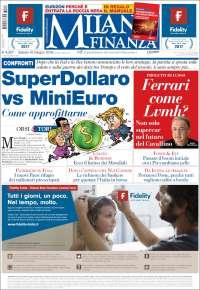 Portada de Milano Finanza (Italia)
