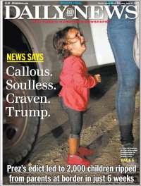 Portada de Daily News - New York (USA)