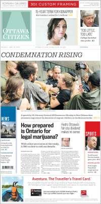Portada de Ottawa Citizen (Canada)