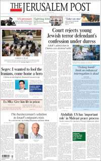 Portada de The Jerusalem Post (Israël)