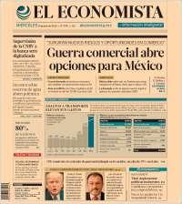 Portada de El Economista (Mexique)