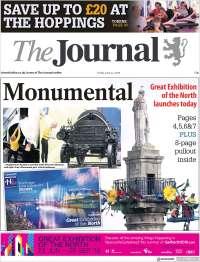 Portada de The Journal (Reino Unido)
