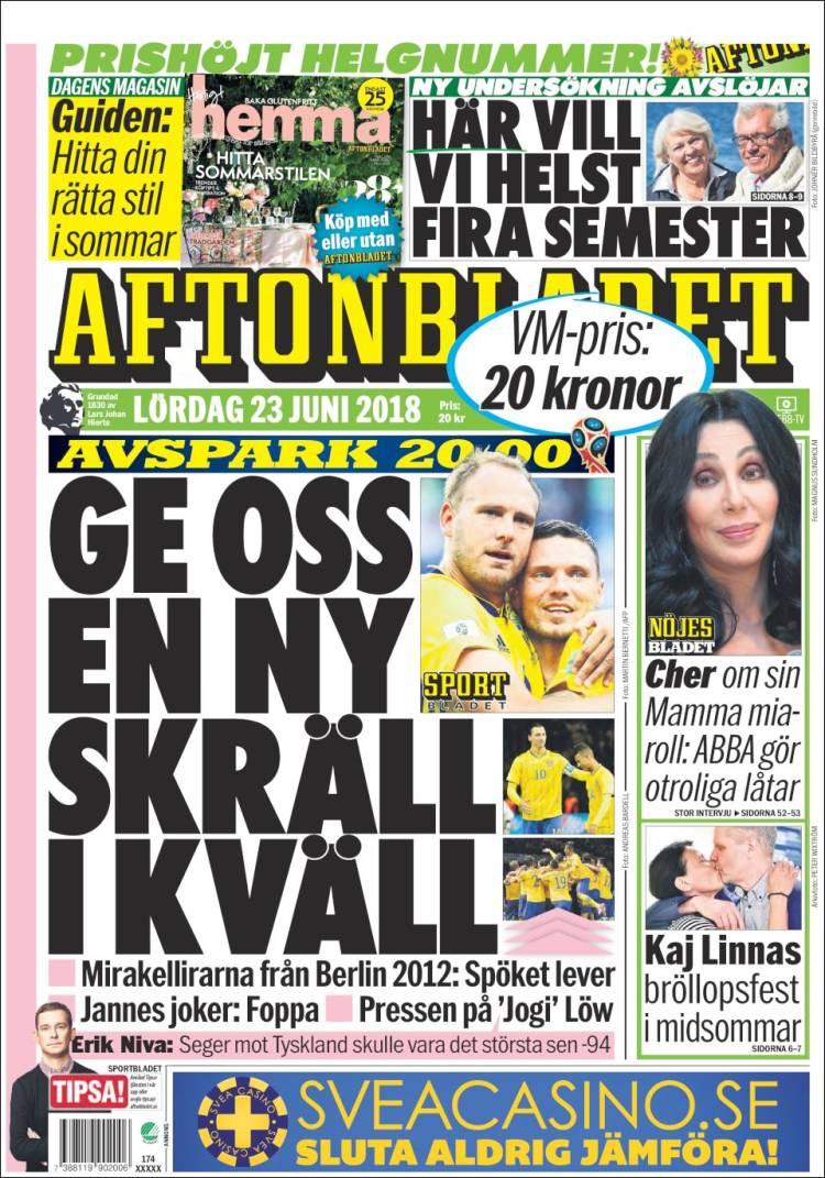Aftonbladet daily 4 december