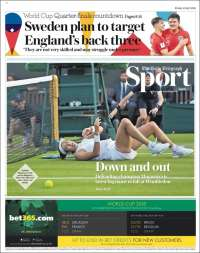 Portada de Telegraph Sport (United Kingdom)