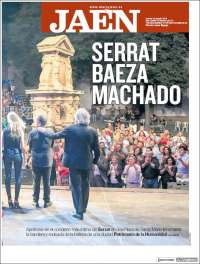 Portada de Diario Jaén (España)