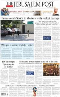 Portada de The Jerusalem Post (Israel)