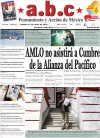 Portada de A.B.C.  (México)