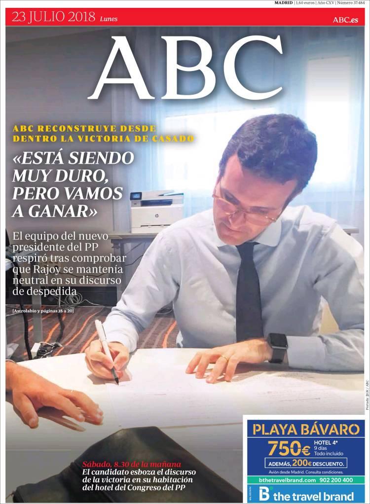 Portada de ABC (Spain)