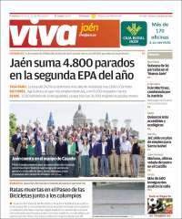 Portada de Viva Jaén (España)