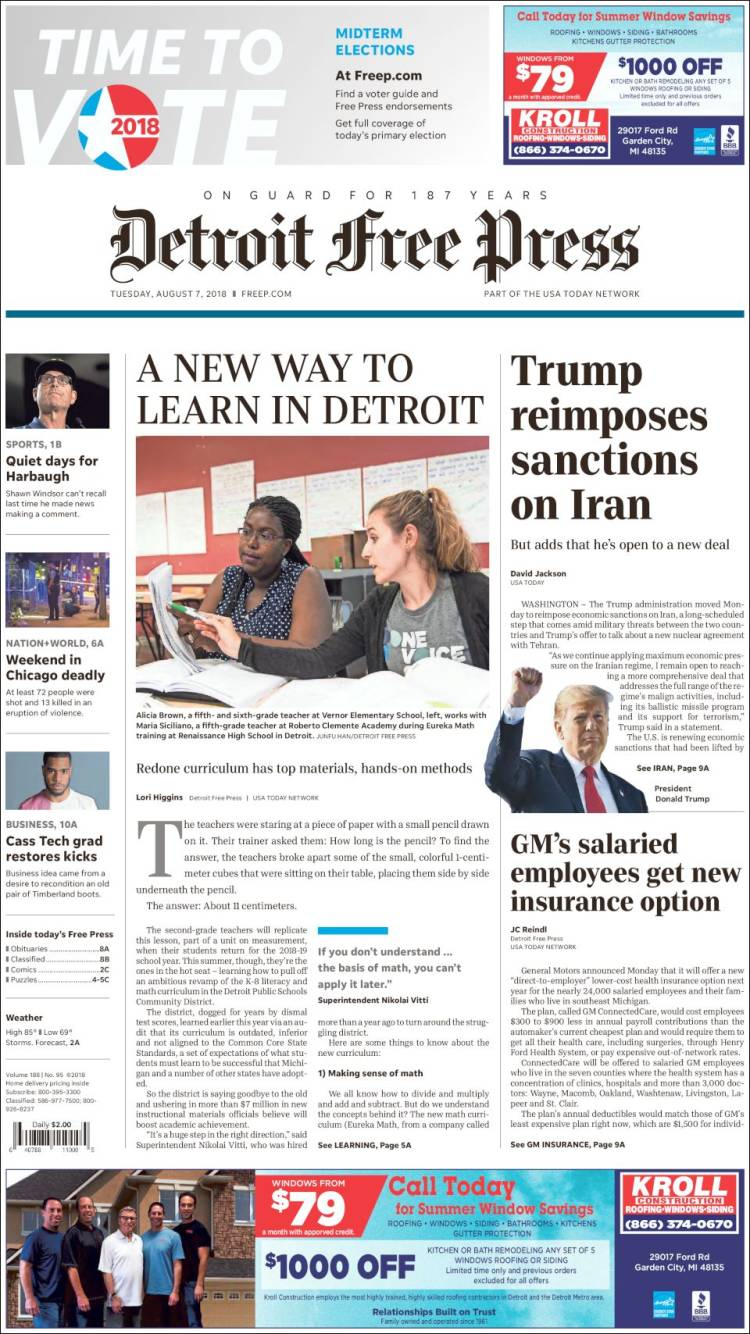 "Detroit free press on twitter: ""2 days until #electionday. Before."