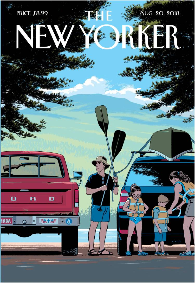 Portada de The New Yorker (USA)