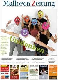 Portada de Mallorca Zeitung (España)