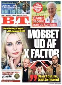 Portada de B.T. (Danemark)