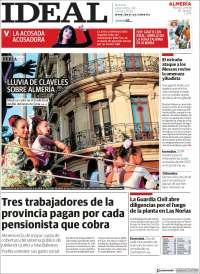 Portada de Ideal Almeria (España)