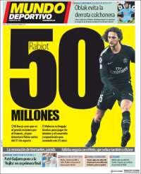 Portada de El Mundo Deportivo (España)