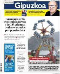 Portada de Noticias de Gipuzkoa (España)